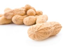 Peanuts pile Royalty Free Stock Images