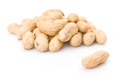 Peanuts pile Stock Photos