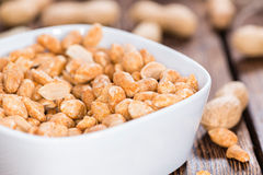 Peanuts (roasted and salted) Royalty Free Stock Photo