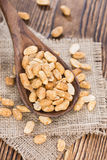 Peanuts (roasted and salted) Royalty Free Stock Photography