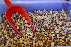 Peanuts sale Stock Photos