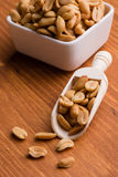 Peanuts on a scoop Royalty Free Stock Photography