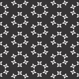 Saemless black and white pattern stock images