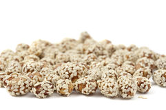 Peanuts with sesame Royalty Free Stock Photo