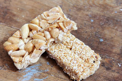 Peanuts and sesame sweets Royalty Free Stock Photo