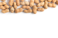 Peanuts Shell Frame Royalty Free Stock Images