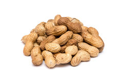 Peanuts In Shell Isolated Royalty Free Stock Images