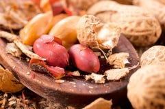 Peanuts and shell Royalty Free Stock Photo
