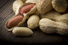 Peanuts  in shells Royalty Free Stock Photo