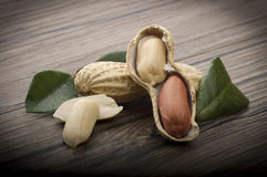 Peanuts  in shells Royalty Free Stock Photos