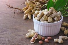 Peanuts in shells Royalty Free Stock Photos