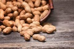 Peanuts in shells Stock Photos