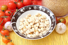 Peanuts. Some peanuts for cooking in a bowl Royalty Free Stock Photography