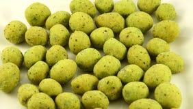 Peanuts wasabi Stock Image