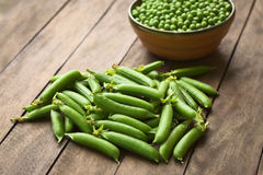Peapods Stock Images