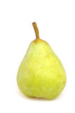 Pear. Fresh pear in front of a white studio background stock image