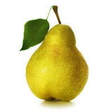 Pear. Ripe Juicy Pear isolated on white