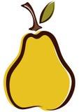 pear royaltyfri illustrationer