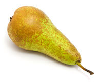 Pear. Single pear isolated on white background stock photography
