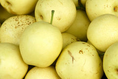 Pear. The close-up of fresh pear Royalty Free Stock Photo