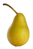 Pear. A pear isolated on white background stock image