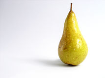 Pear. On white background Stock Photos