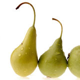 Pear. Stem royalty free stock image