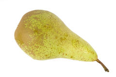 Pear. A pear on a white background Royalty Free Stock Images