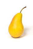 Pear. Shot of an isolated pear Stock Image