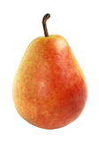 Pear. Ripe pear on a white background Royalty Free Stock Photo