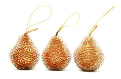 Pear. A Christmas-tree Decoration Stock Photography