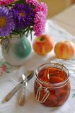 Pear and Apple Preserve Royalty Free Stock Images