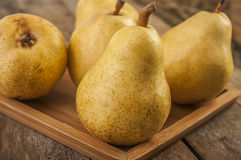 Pear autumn harvest Royalty Free Stock Images