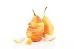 Pear backgound. Stock Photos