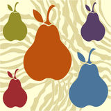 Pear background Stock Photo