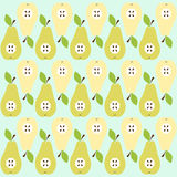 Pear background Stock Photos