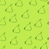 Pear backgroundΠRoyalty Free Stock Image