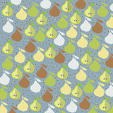Pear background. Vector graphic illustration design art Royalty Free Stock Image