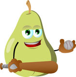 Pear Baseball player Stock Photos