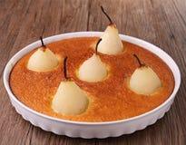 Pear cake Royalty Free Stock Photo