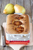 Pear cake Royalty Free Stock Images