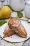 Pear cake Royalty Free Stock Image