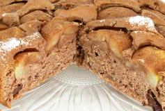 Pear cake Royalty Free Stock Photos