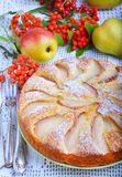 Pear cake Royalty Free Stock Photography