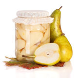Pear compote Stock Photography