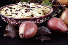 Pear Crisp Stock Images