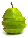 Pear Cut On A Part Royalty Free Stock Photos