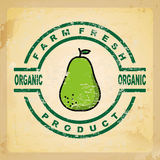 Pear design Royalty Free Stock Image