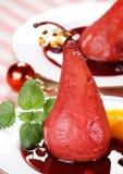 Pear dessert Stock Photo