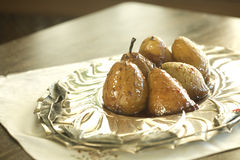 Pear dessert Royalty Free Stock Photography